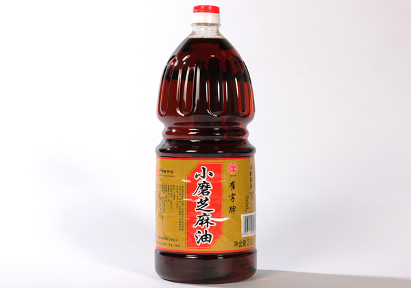 Cui plate has no added small grinding pure sesame oil sesame oil 2.5L Chinese old name