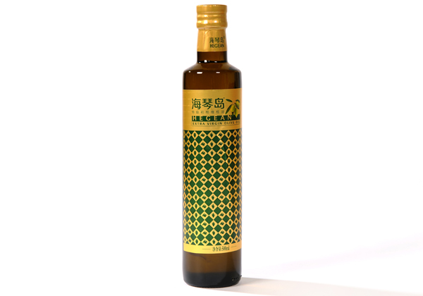 Haiqin Island high quality virgin olive oil 500ml glass bottle
