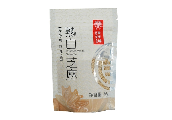 Cui plate without adding no dye 50g cooked white sesame