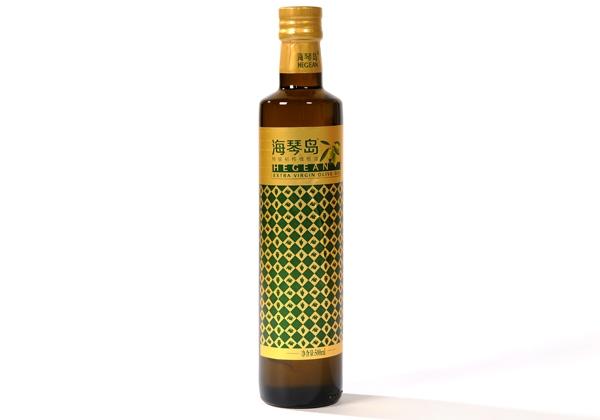 Haiqin Island high quality virgin olive oil 500ml glass bottle