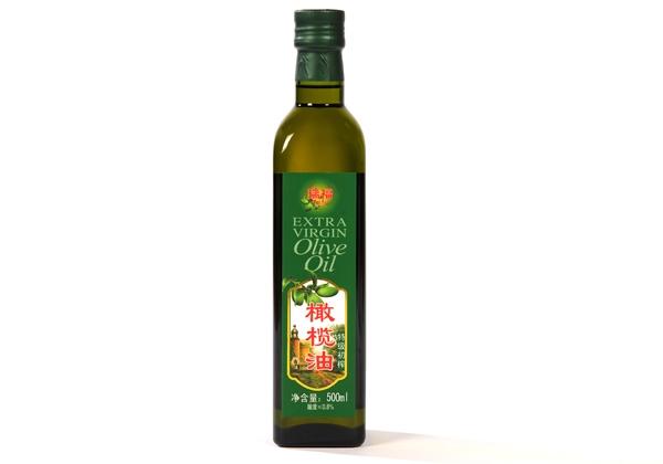 Ruifu brand high quality virgin olive oil 500ml glass bottle